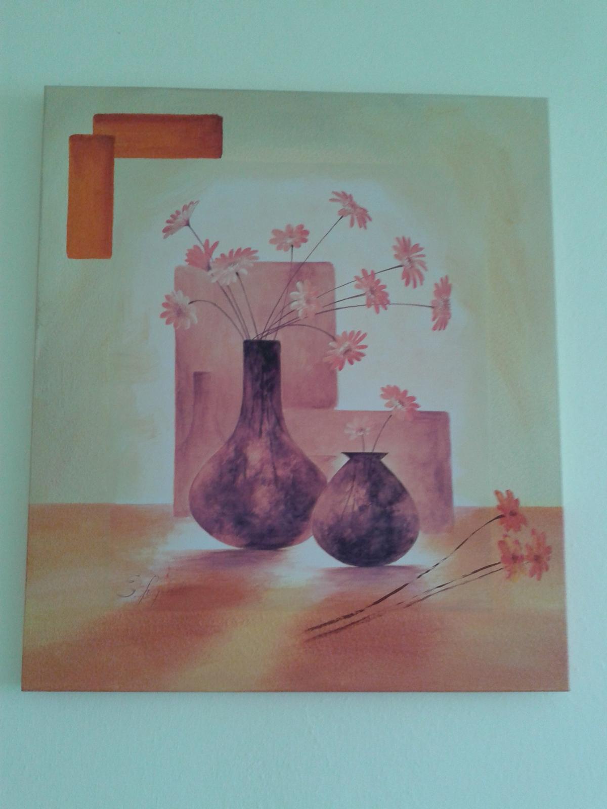 obraz - kvety vo váze - Obrázok č. 1