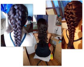 délka vlasů je opravdu má :)