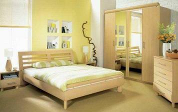 naše ložnice s příznačným názvem Dream:-)