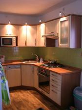 kuchyň v celé své kráse