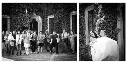španělští turisté si vyskandovali polibek a přenesení nevěsty přes práh :-)