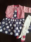 Šaty s pančuškami a svetríkom- nenosené, 74