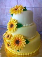 torta ale na vrch by som dala zenicha a nevestu