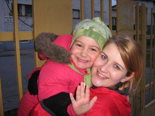 Lucia & Rasťo 9.8.2008 - Naša hlavná družička Adelka