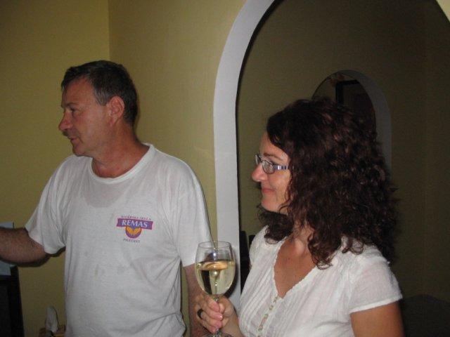 Lucia & Rasťo 9.8.2008 - Náš pán masér Šantaví - vrele odporúčám je to fakt Pan Masér!