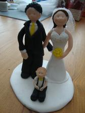 figurky na dort (na to,že to byla má první práce s fimem,tak docela dobrý,ne?)