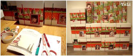 první menší půlka dárků zabalena :)