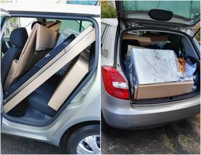 Když už do Ikea, tak ať se to pořádně vyplatí :) a to jsme jeli jen pro dřez a digestoř