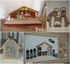 Betlémy u nás doma- mnou vyrobené