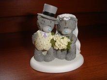 Maťka & Majko 29.8.2009:-) - ...to su moji na svadobnú tortu..sú taký zlatučký :-D
