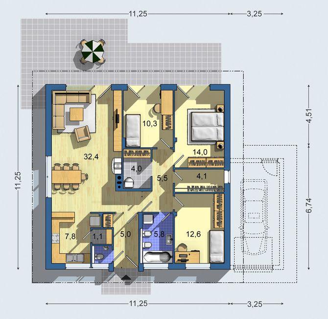 Nas velky sen bungalov 961 - Obrázok č. 3