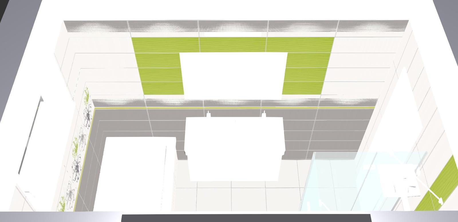 Inspiracie pre domcek - vizu nasej kupelne ale toto este riesim zrkadlo chcem nalepit a tu zelenu asi zrusim