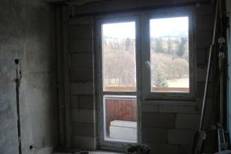 uz nove okienko na balkone :)