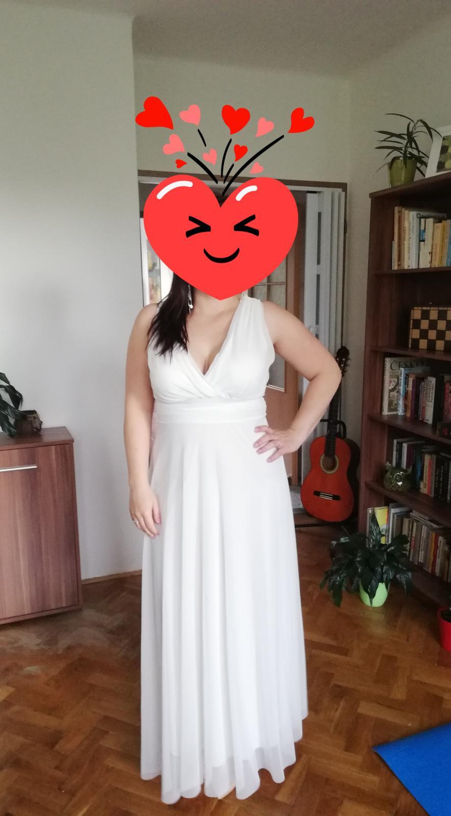 Společenské šaty - popůlnoční nebo i svatební - Obrázek č. 1