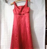 vínové  dlouhé šaty , 158