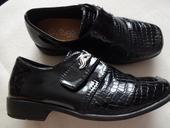 luxusní lakovky  černé chlapecké boty, 29