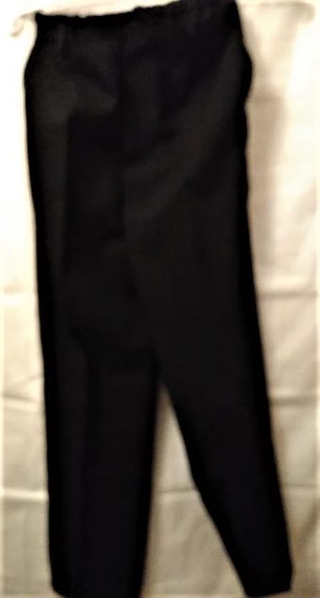 černé společenské kalhoty - Obrázek č. 1