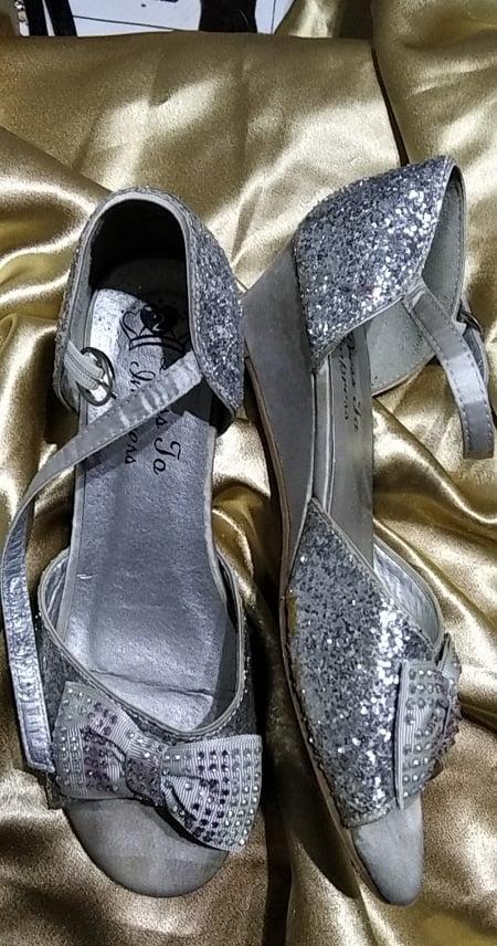 luxusní dívčí boty vel. 34  stélka  22 cm - Obrázek č. 1