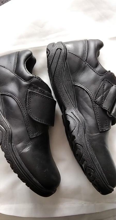 Nové pohodlné černé boty pro chlapce v.36 i na vysoký nárt, - Obrázek č. 2