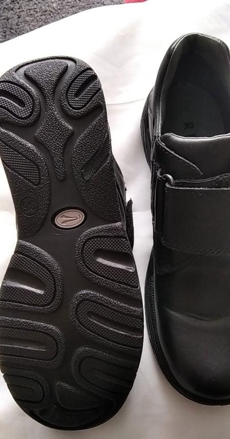 Nové pohodlné černé boty pro chlapce v.36 i na vysoký nárt, - Obrázek č. 4
