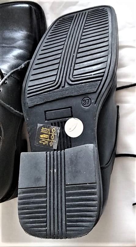 černé společenské boty vel.37 - Obrázek č. 2