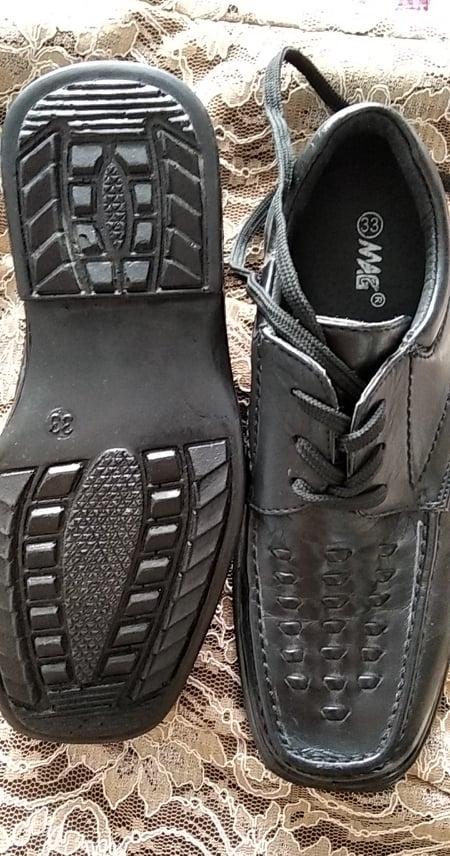 černé společenské boty vel.33 - Obrázek č. 2