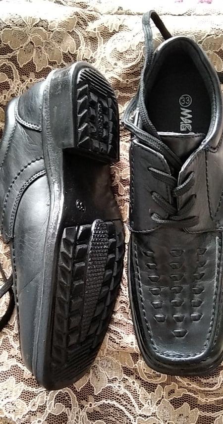 černé společenské boty vel.33 - Obrázek č. 3