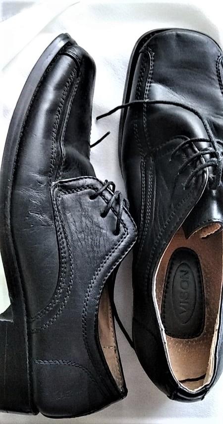 kvalitní kožené  chlapecké boty zn. VISON vel.35 - Obrázek č. 1