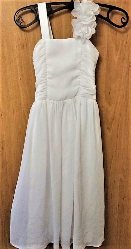 šaty pro družičku dlouhé na 7 let - 9 let - Obrázek č. 1