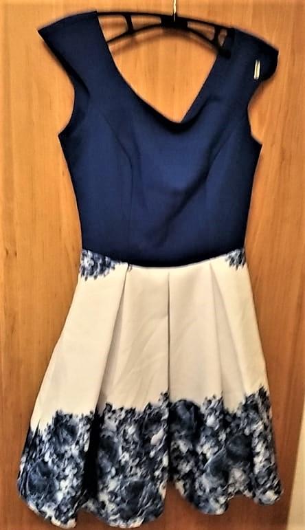 moderní společensksé šaty vel. 34 - Obrázek č. 1