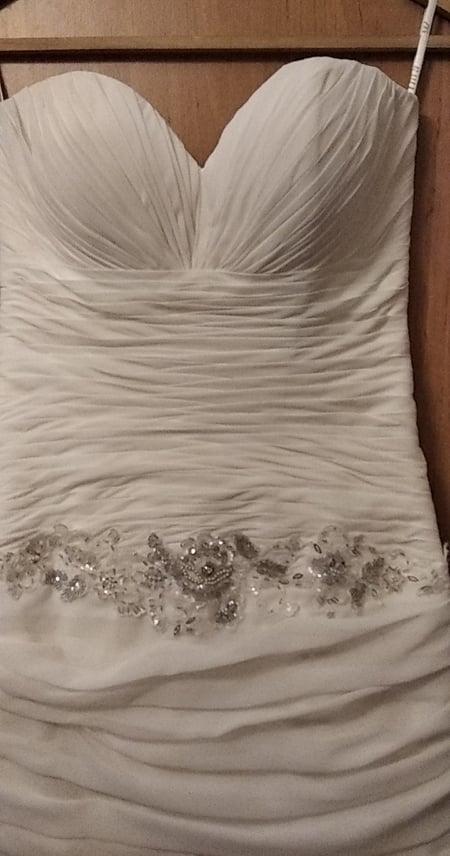 vyčištěné krásné šaty  MAXIMA  vel. 38 - Obrázek č. 1