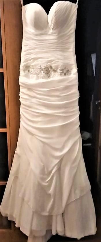 vyčištěné krásné šaty  MAXIMA  vel. 38 - Obrázek č. 2