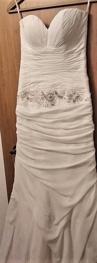 vyčištěné krásné šaty  MAXIMA  vel. 38 - Obrázek č. 3