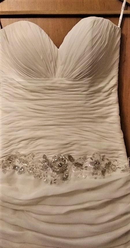 vyčištěné krásné šaty  MAXIMA  vel. 38 - Obrázek č. 4