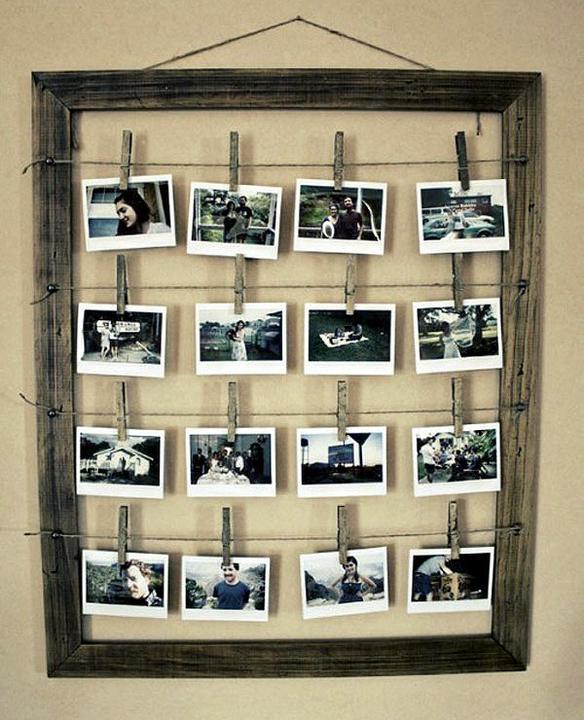 """Aby steny neboli """"holé"""" - Stačí jeden rám...  a výmena fotky tiež nezaberie veľa času..."""
