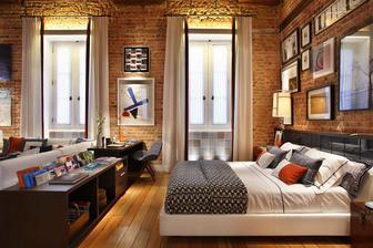 útulná spálňa....
