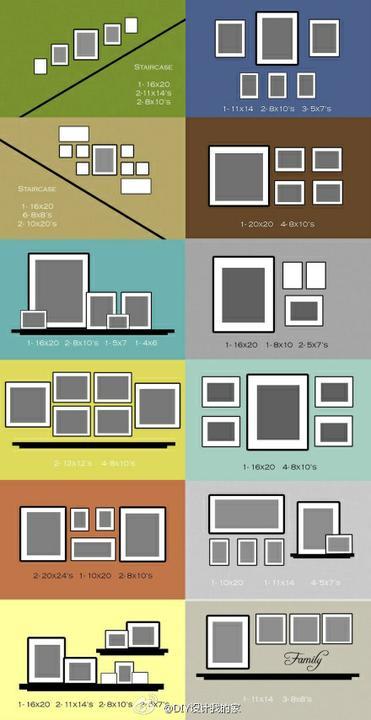 """Aby steny neboli """"holé"""" - šablóny na ozvešanie obrázkov"""