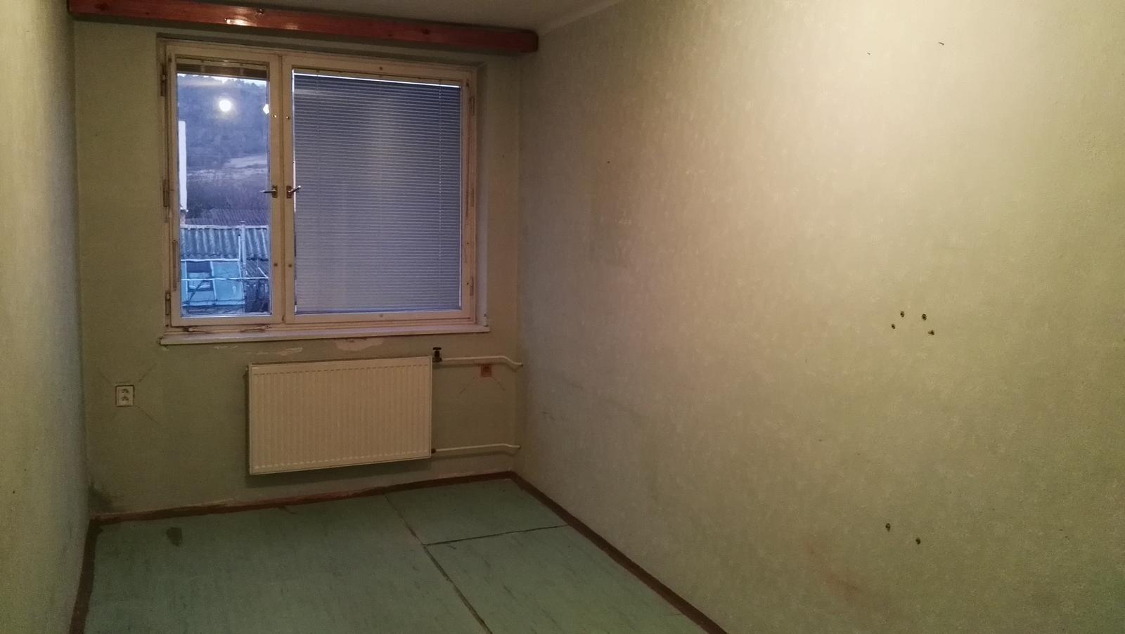 Projekt: Nové bývanie ... - ... a táto bude pre druhú ...