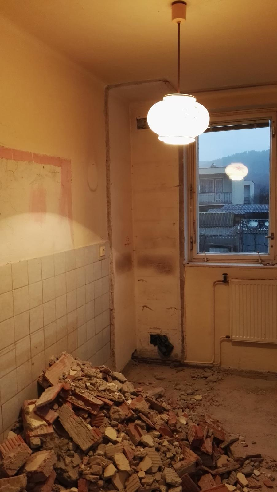 Projekt: Nové bývanie ... - ... zrušená špajza ...
