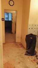 ... a tieto dvere z kuchyne sa zamurujú ...