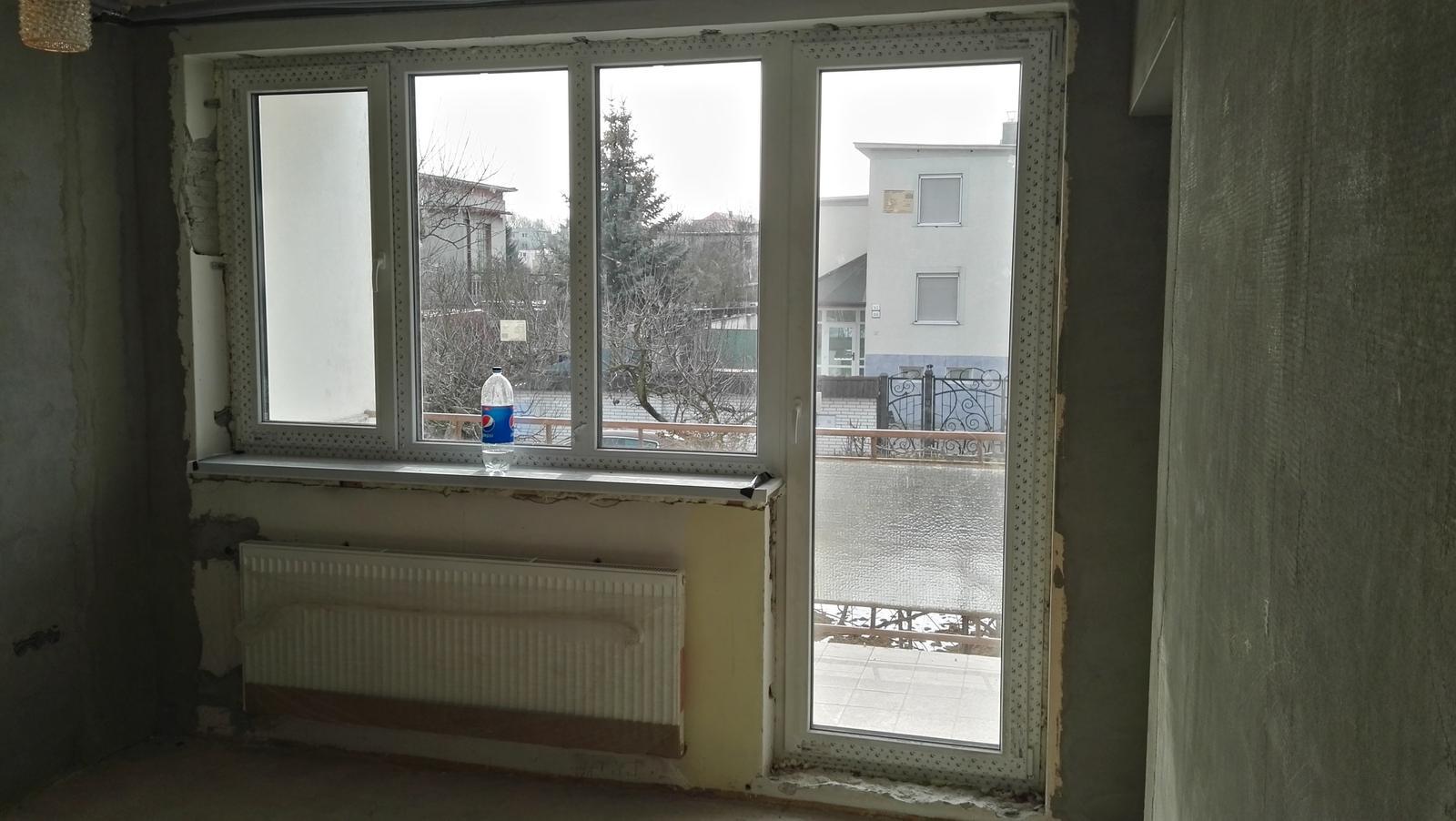 Projekt: Nové bývanie ... - ...máme okná...
