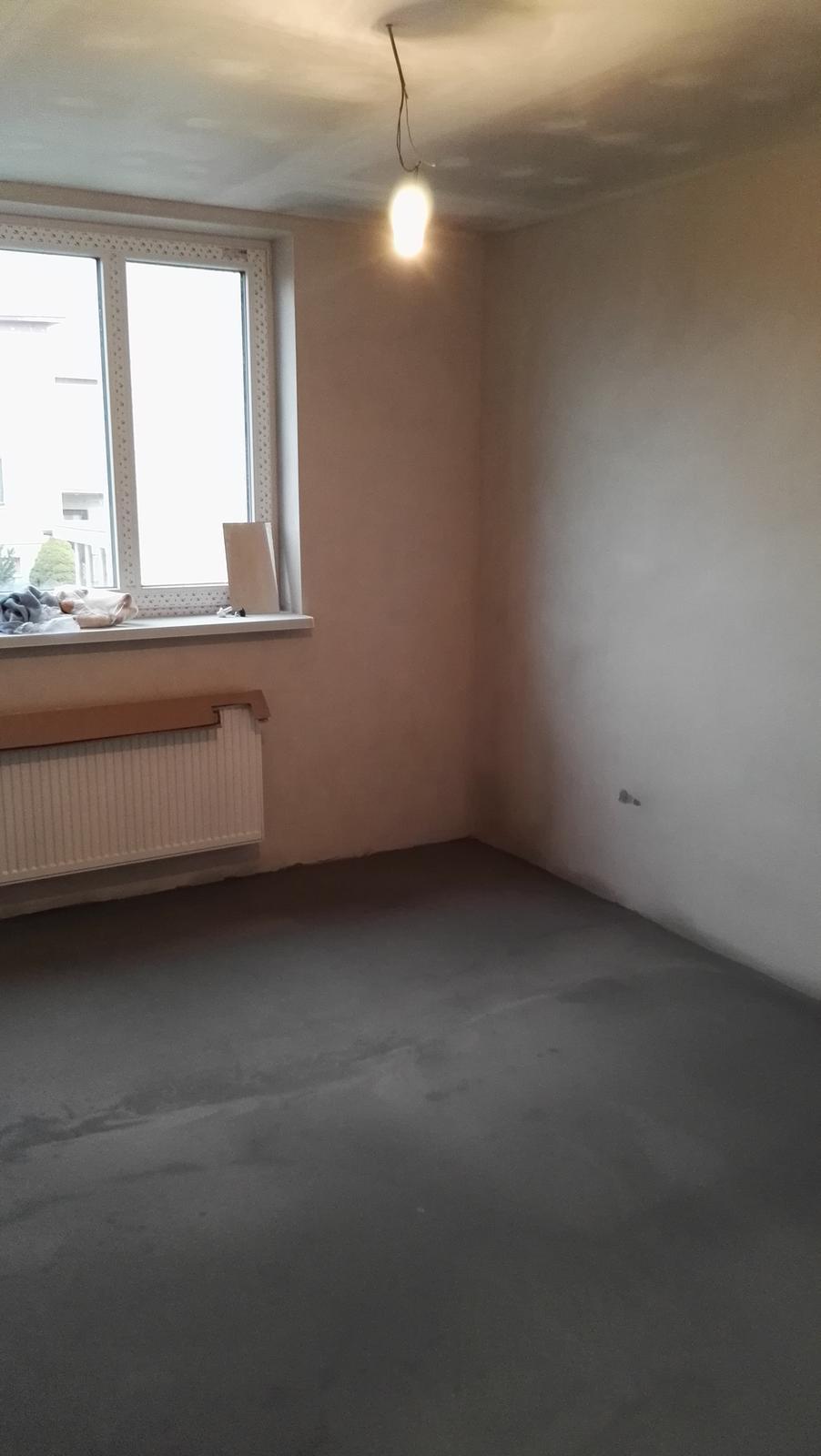 Projekt: Nové bývanie ... - ... stierky a nivelačka hotové ...