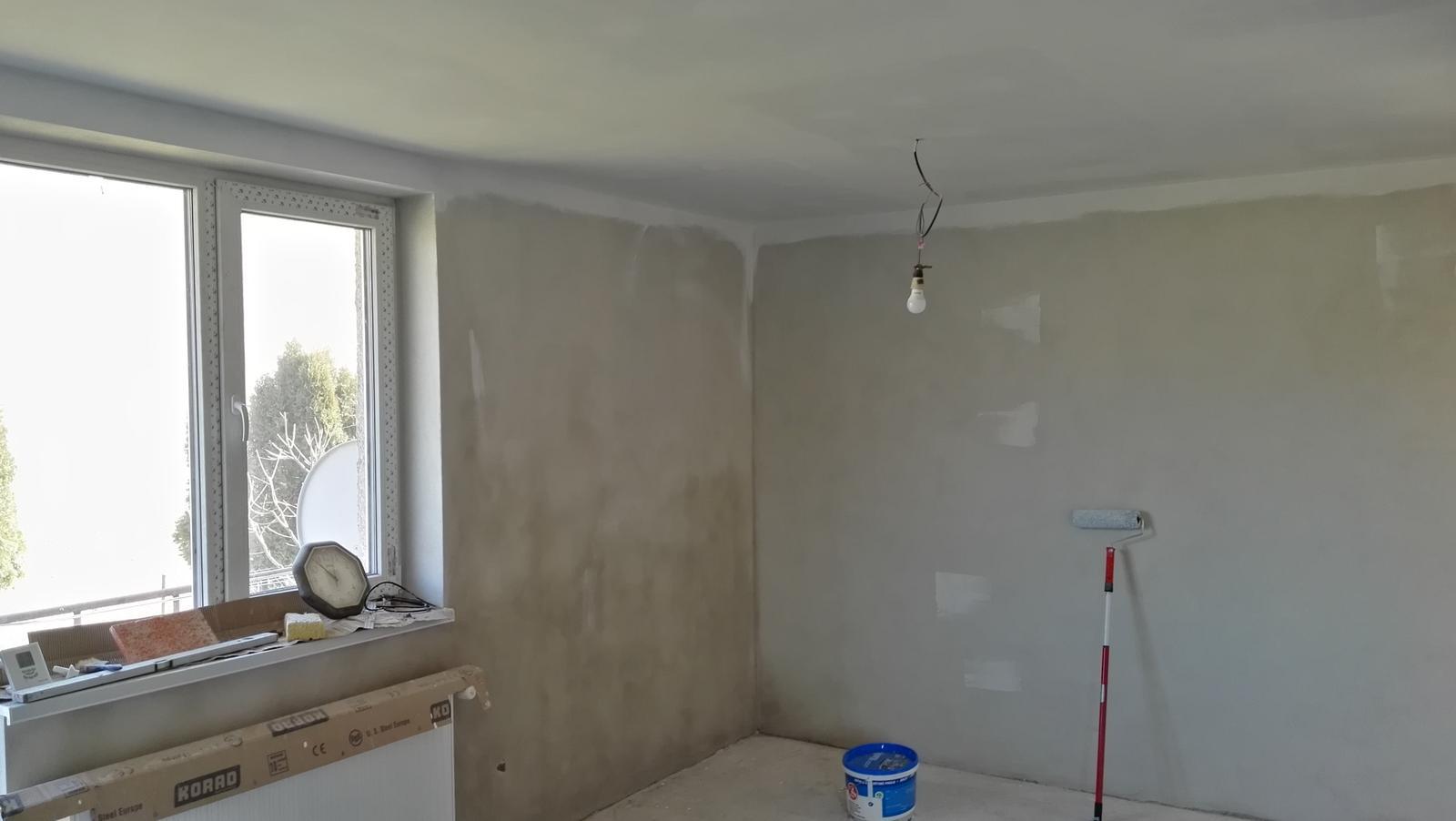 Projekt: Nové bývanie ... - ... začali sme maľovať ...