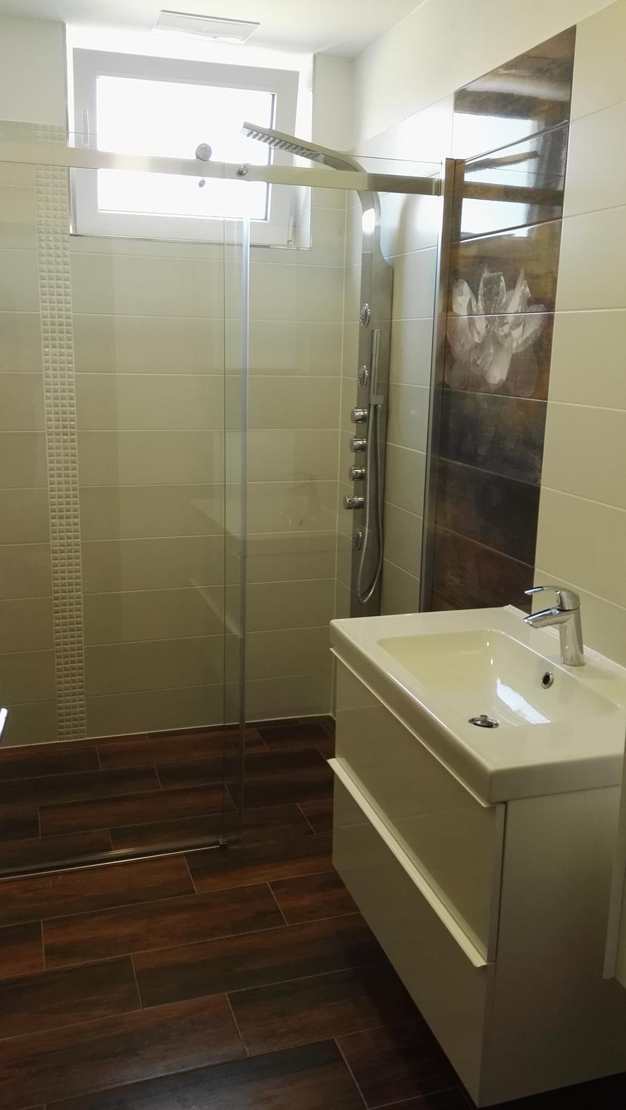 Projekt: Nové bývanie ... - ... kúpeľňa hotovo ...