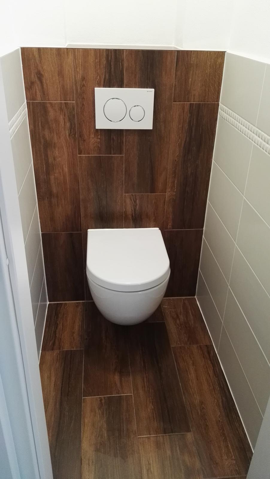 Projekt: Nové bývanie ... - ... wc hotovo ...