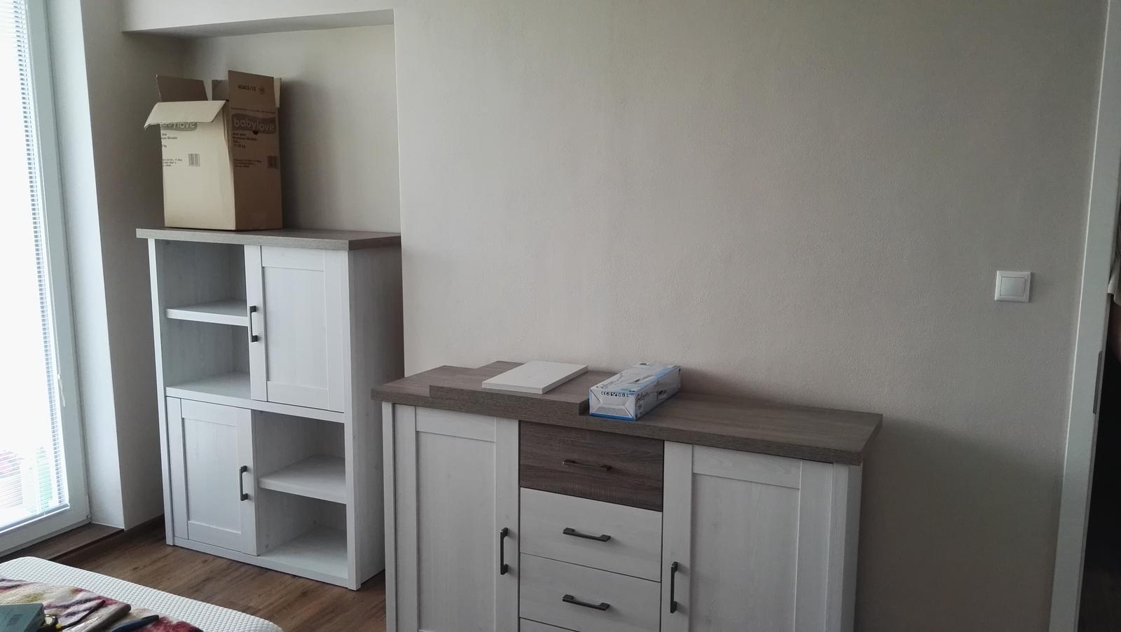 Projekt: Nové bývanie ... - ... nábytok Luca...