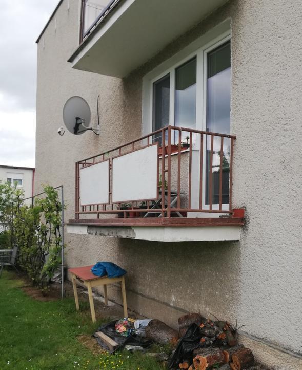 Premena balkóna na terasku - Obrázok č. 1