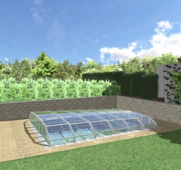 Realizácia bazénu Ibiza Family a zastresenie - Obrázok č. 1