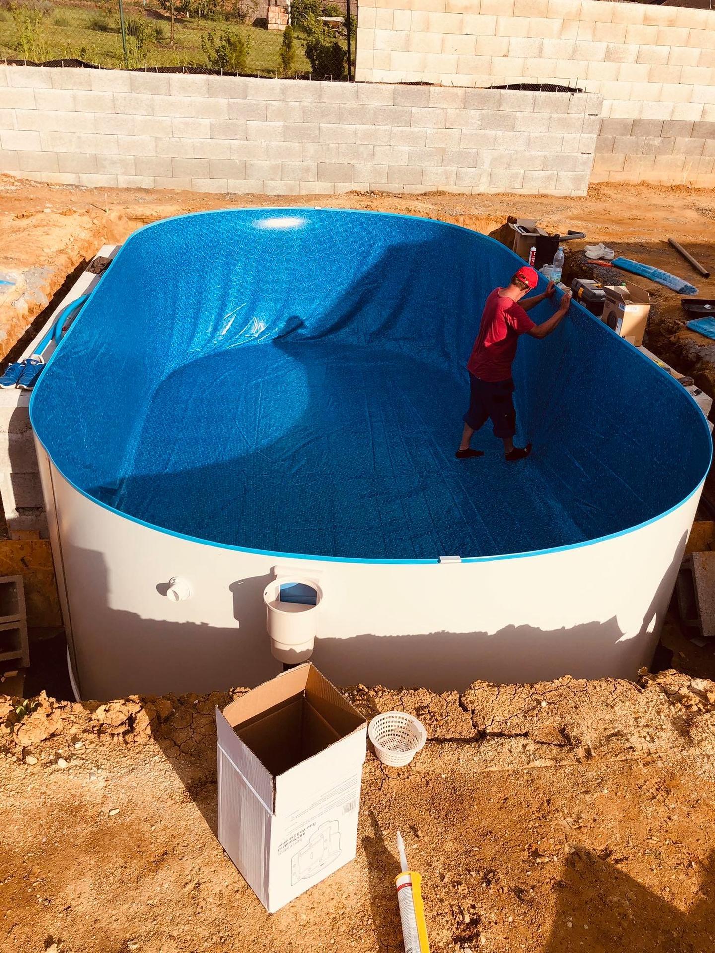 Realizácia bazénu Ibiza Family a zastresenie - Obrázok č. 18