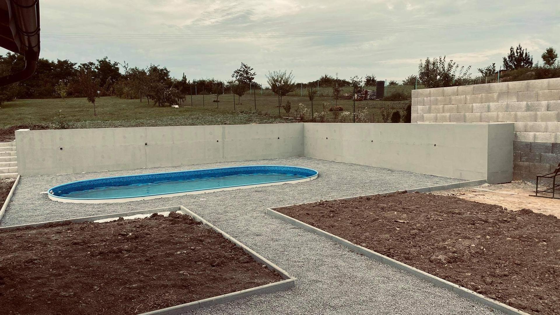 Realizácia bazénu Ibiza Family a zastresenie - Obrázok č. 25